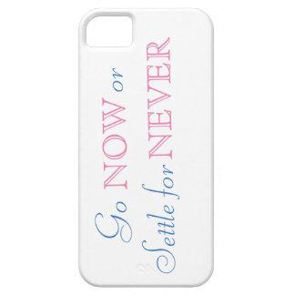 Funda Para iPhone SE/5/5s ¡Ahora vaya o establezca para nunca!