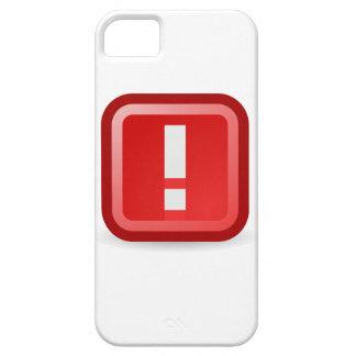 Funda Para iPhone SE/5/5s Alerta roja
