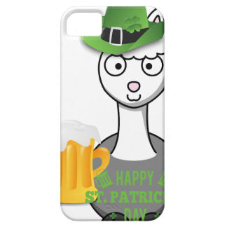 Funda Para iPhone SE/5/5s alpaca feliz del día de los patricks del st