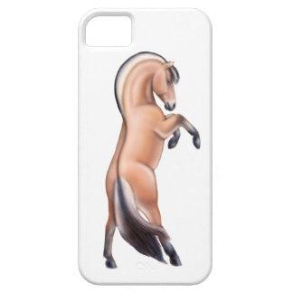 Funda Para iPhone SE/5/5s Alzar la caja noruega del iPhone 5 del caballo del