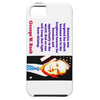 Funda Para iPhone SE/5/5s América fue apuntada para el ataque - G W Bush