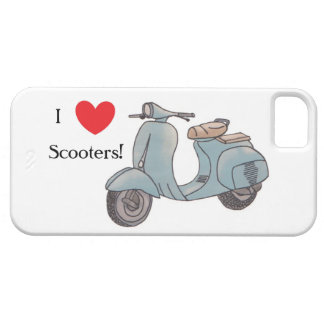 Funda Para iPhone SE/5/5s ¡Amo las vespas! Caso de Iphone 5