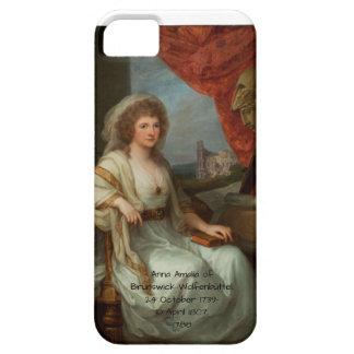 Funda Para iPhone SE/5/5s Ana Amalia de Brunswick-Wolfenbuttel 1788