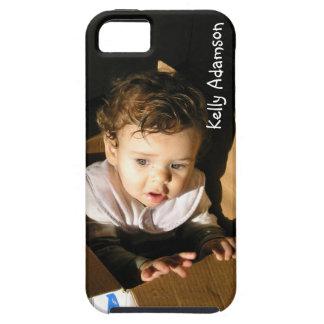 Funda Para iPhone SE/5/5s Añada la imagen de su niño adorable aquí: