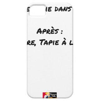 Funda Para iPhone SE/5/5s ANTES de: EL ASUNTO TAPIE EN LA SOMBRA, MÁS TARDE: