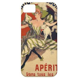 Funda Para iPhone SE/5/5s Anuncio del francés del vintage