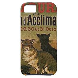 Funda Para iPhone SE/5/5s Anuncio francés del vintage - gatos