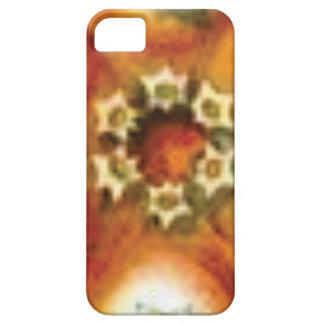 Funda Para iPhone SE/5/5s arte anaranjado de la base