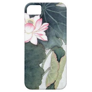 Funda Para iPhone SE/5/5s Arte asiático de la mariposa de la flor del rosa