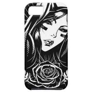 Funda Para iPhone SE/5/5s Arte del Chicano de Maria de la madre