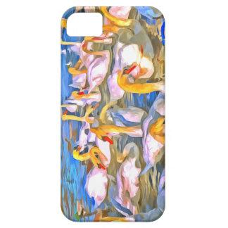Funda Para iPhone SE/5/5s Arte pop de los cisnes