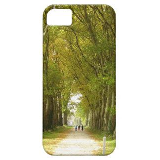 Funda Para iPhone SE/5/5s Avenida del SE del iPhone de los árboles+caso 5/5S