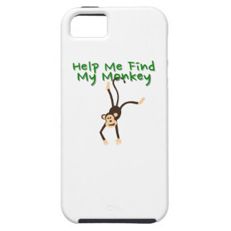 Funda Para iPhone SE/5/5s Ayuda encontrar mi mono