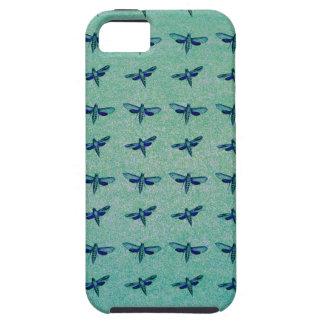 Funda Para iPhone SE/5/5s Azul de la mariposa