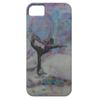 Funda Para iPhone SE/5/5s Bailarín en la nieve - SE del iPhone + caso del