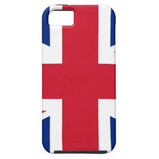 """Funda Para iPhone SE/5/5s Bandera BRITÁNICA """"Union Jack """" de Reino Unido del"""