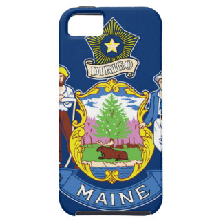Funda Para iPhone SE/5/5s Bandera de Maine