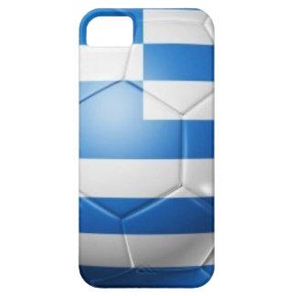 FUNDA PARA iPhone SE/5/5s BANDERA DEL FÚTBOL DE GRECIA
