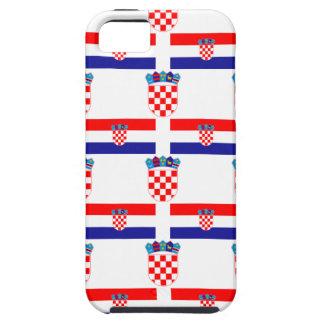 Funda Para iPhone SE/5/5s Bandera y escudo de Croacia