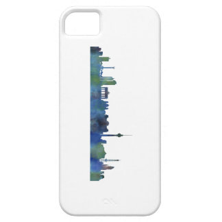 Funda Para iPhone SE/5/5s Berlin city Germany Skyline art watercolor