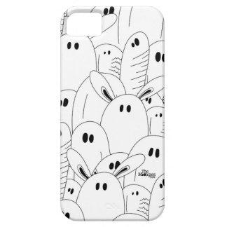 Funda Para iPhone SE/5/5s Black and white ghost