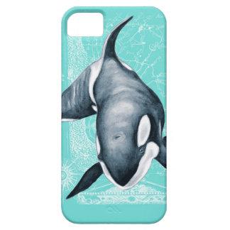 Funda Para iPhone SE/5/5s Blanco del trullo de la orca