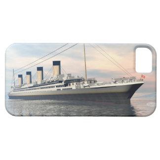 Funda Para iPhone SE/5/5s boat_titanic_close_water_waves_sunset_pink_standar