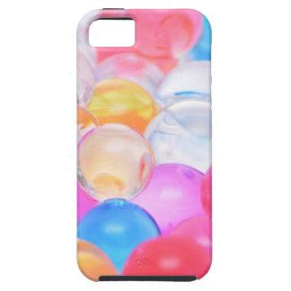 Funda Para iPhone SE/5/5s bolas transparentes
