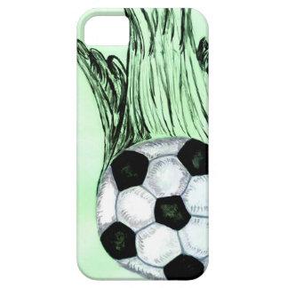 Funda Para iPhone SE/5/5s Bosquejo 4 del balón de fútbol