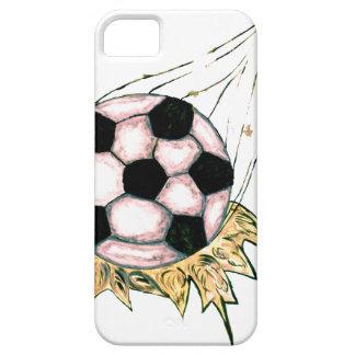 Funda Para iPhone SE/5/5s Bosquejo del balón de fútbol