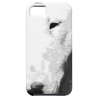 Funda Para iPhone SE/5/5s Bull terrier blanco y negro