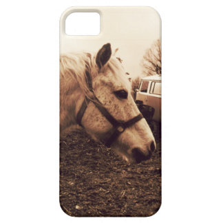 Funda Para iPhone SE/5/5s Caballo y autobús Dappled
