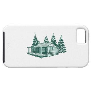 Funda Para iPhone SE/5/5s Cabina en las maderas…