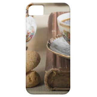 Funda Para iPhone SE/5/5s Café express de la mañana y savoiardi de las