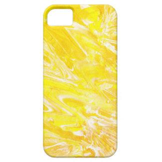 Funda Para iPhone SE/5/5s Caja abstracta amarilla original del iPhone de la