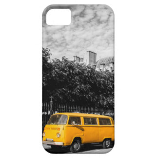Funda Para iPhone SE/5/5s caja amarilla del autobús del iPhone (4,5,6,7,8)