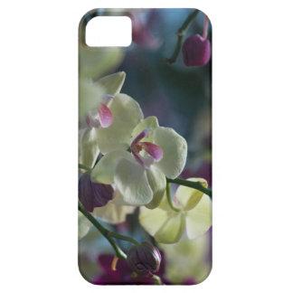 Funda Para iPhone SE/5/5s Caja amarilla del teléfono de la orquídea