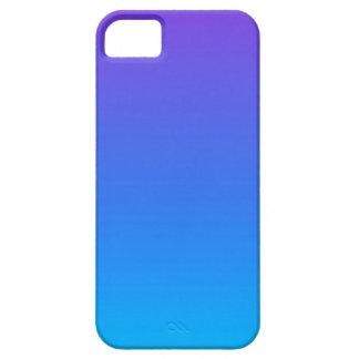 Funda Para iPhone SE/5/5s Caja azul y púrpura del teléfono del iPhone