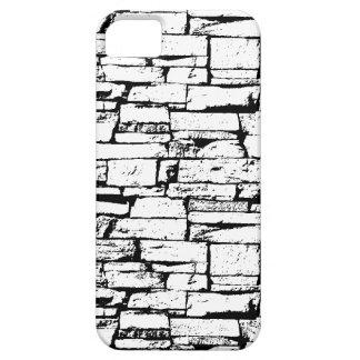 Funda Para iPhone SE/5/5s Caja blanco y negro del teléfono del ladrillo