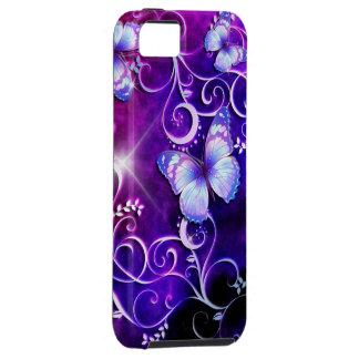 Funda Para iPhone SE/5/5s Caja de la mota del arte 3 de la mariposa