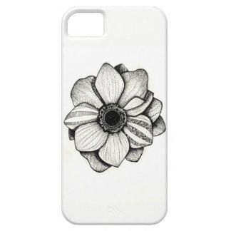 Funda Para iPhone SE/5/5s Caja del teléfono de la flor del remiendo