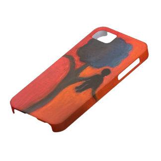 Funda Para iPhone SE/5/5s Caja del teléfono de la silueta del árbol y de la