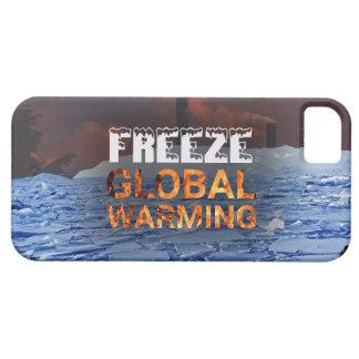Funda Para iPhone SE/5/5s Caja del teléfono del calentamiento del planeta