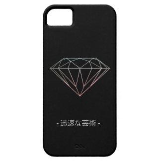 Funda Para iPhone SE/5/5s Caja del teléfono del diamante negro