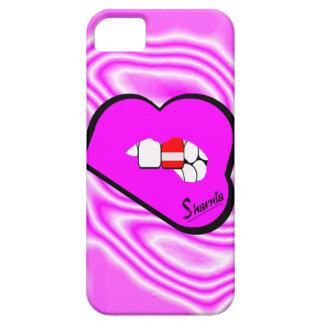 Funda Para iPhone SE/5/5s Caja del teléfono móvil de Austria de los labios