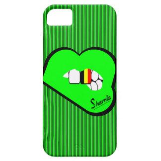 Funda Para iPhone SE/5/5s Caja del teléfono móvil de Bélgica de los labios