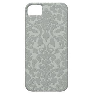 Funda Para iPhone SE/5/5s Caja grabada en relieve sutil gris del iPhone 5