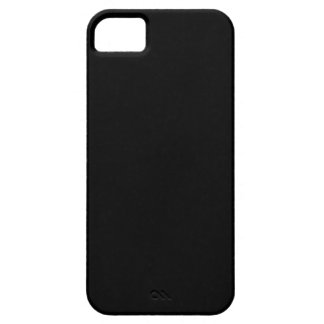 Funda Para iPhone SE/5/5s caja negra sólida del SE del iPhone