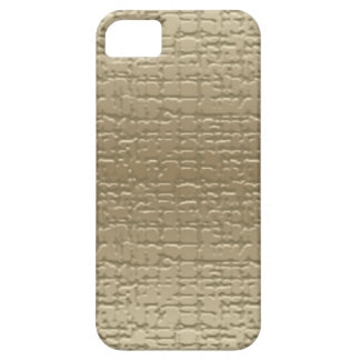 Funda Para iPhone SE/5/5s Caja texturizada oro de Iphone