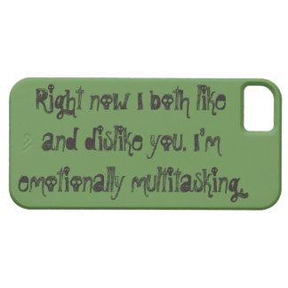Funda Para iPhone SE/5/5s Caja verde emocionalmente polivalente del teléfono